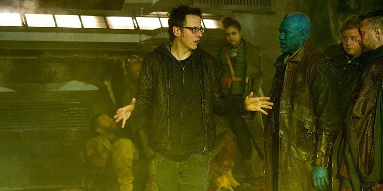 James-Gunn-and-Michael-Rooker-filming-Guardians-of-the-Galaxy