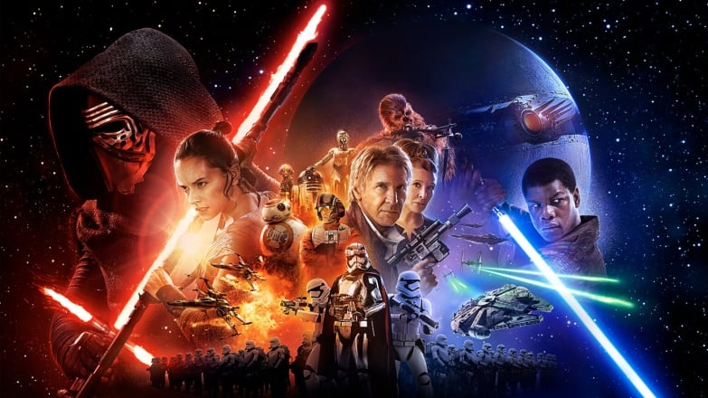 Star Wars Force Awaken Poster