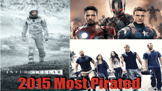 10 pirated movie