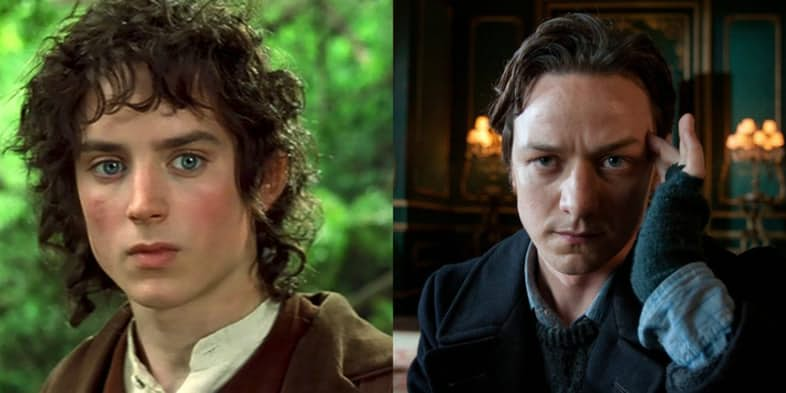 FRODO BAGGINS – JAMES MCAVOY