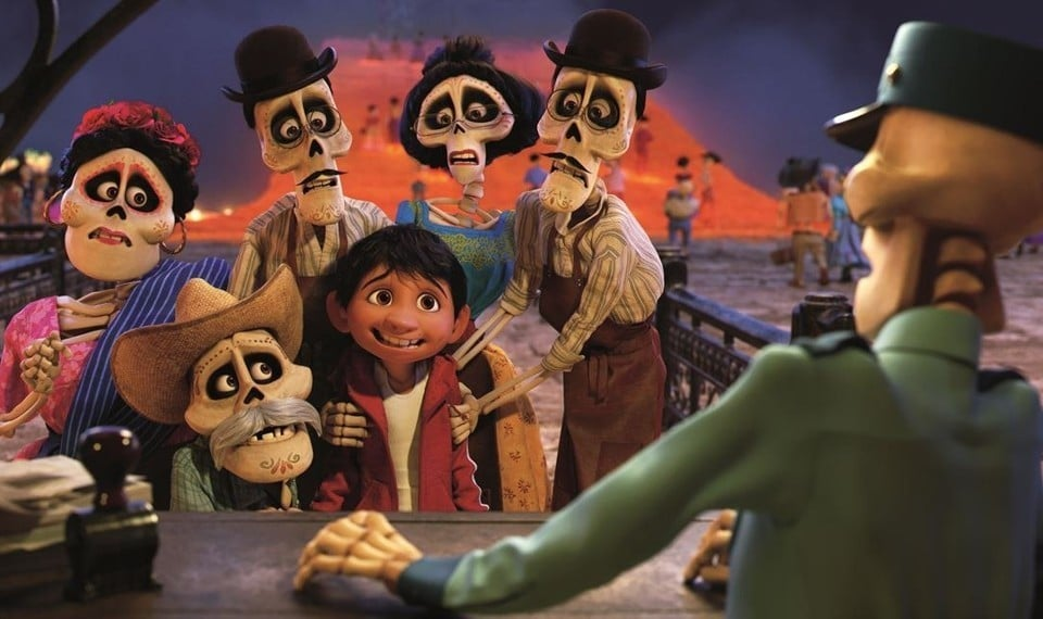Pixar Animation Coco Movie