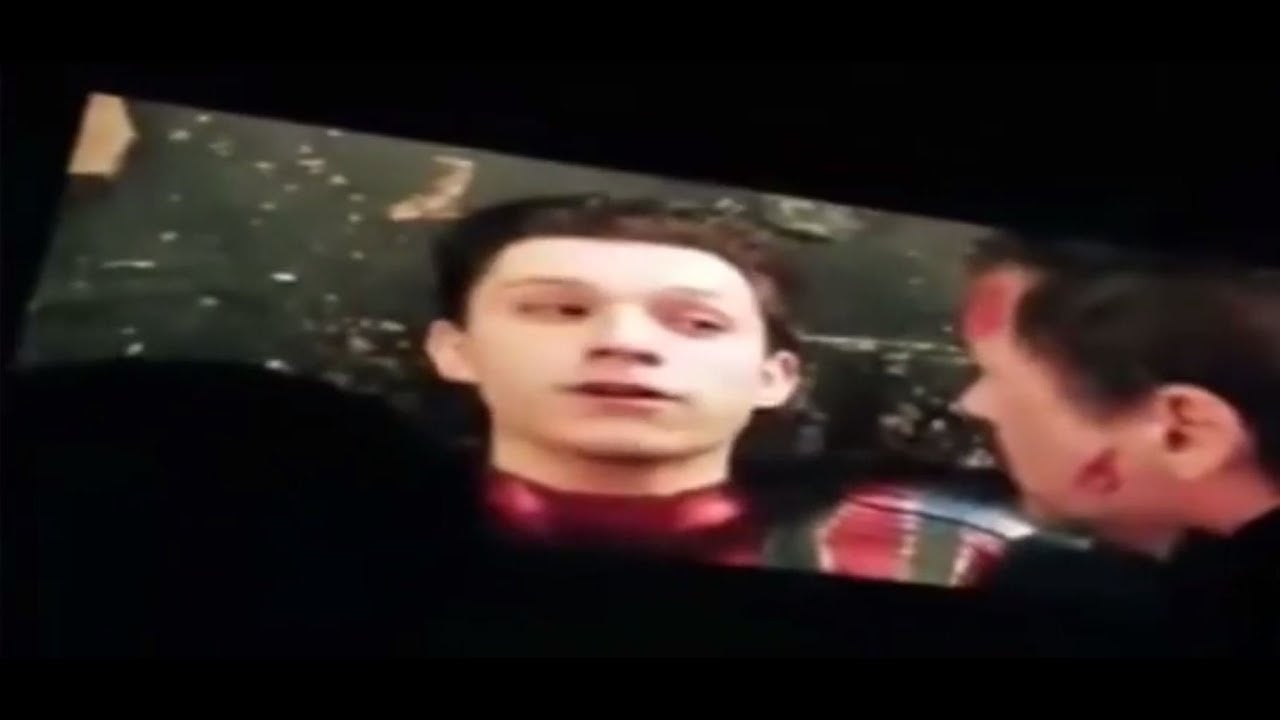 Tom Holland Spider-Man Infinity War